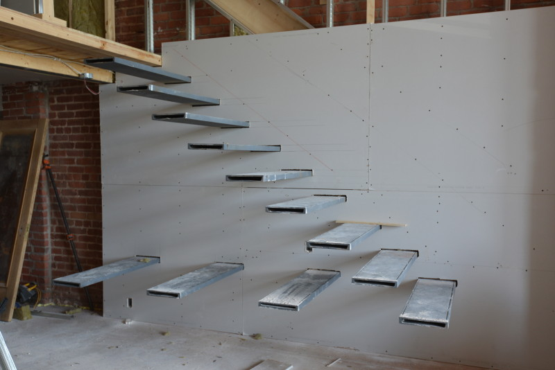 Building A Floating Staircase Work Renovation